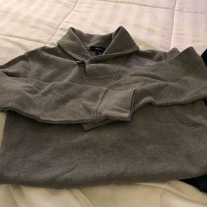 Bundle - Gap boys sweaters blue and grey size med.